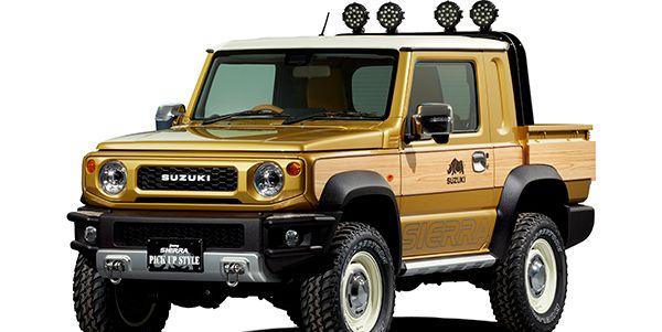 2020 Suzuki Jimny One Of The Best Non-US Off-Roaders >> Suzuki Jimny Pickup Concept Created For The Tokyo Auto Salon