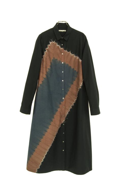 スズサン 藍のファッション展 芦屋市立美術博物館