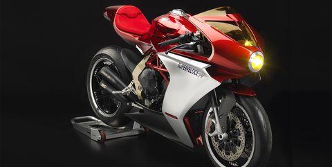 Land vehicle, Vehicle, Motorcycle, Superbike racing, Red, Motorcycle fairing, Automotive design, Car, Automotive exterior, Automotive lighting,