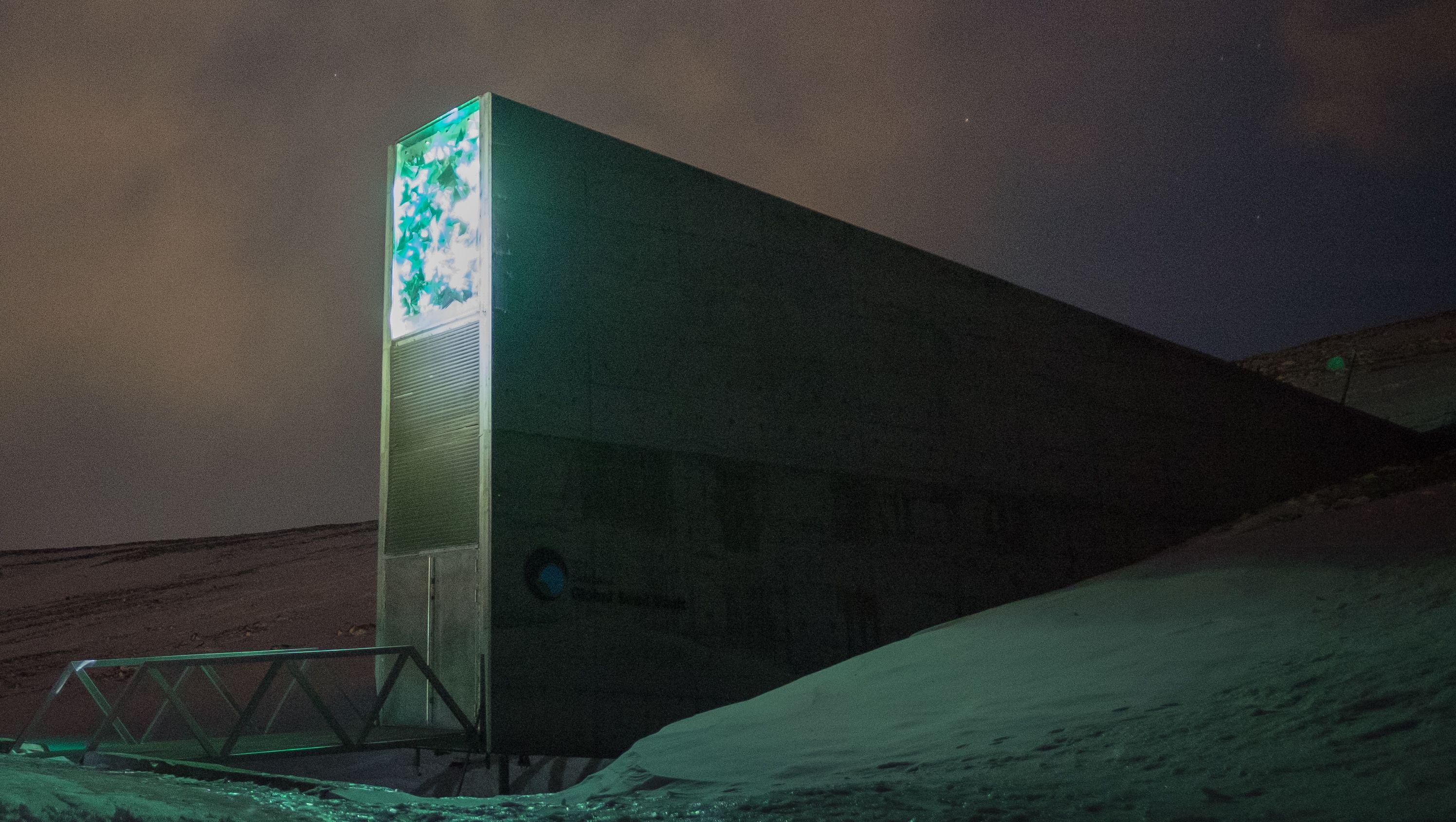 Doomsday Vault Global Seed Vault Svalbard Vault