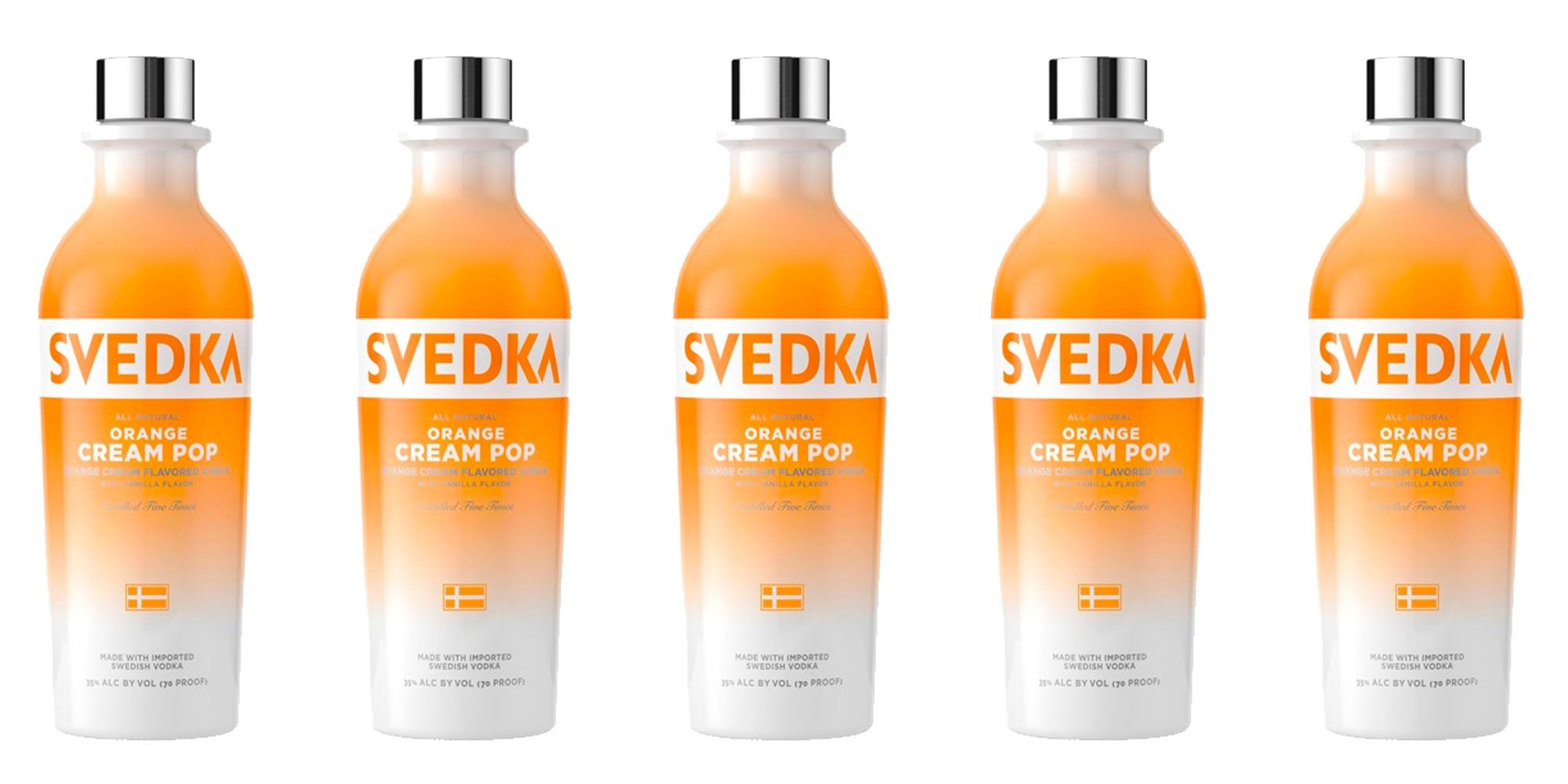 Orange Creamsicle Vodka Exists, So We're Never Drinking Boring Booze Again
