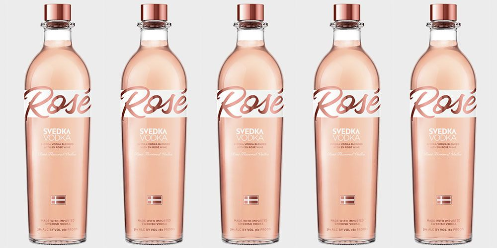 Svedka Is Releasing A Ros 233 Vodka And It S Made With