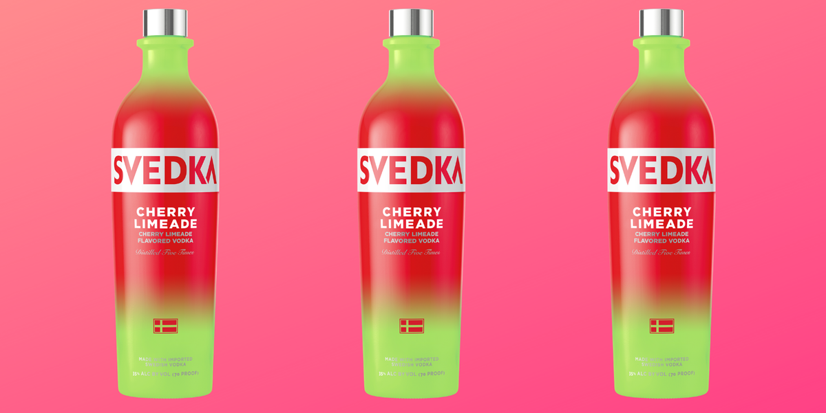 SVEDKA Vodka's New Cherry Limeade Flavor Is Summer Fun In One Sip