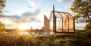 In Svezia si può dormire in stanze di vetro in mezzo al bosco