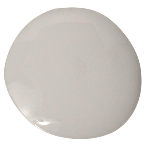 gray paint blob