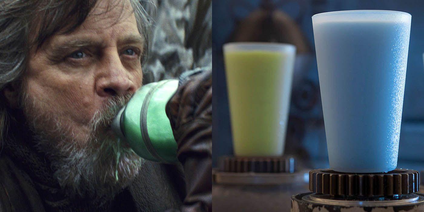 Star Wars Movie Milk History Disney S Star Wars Theme Park Is Serving Blue And Green Milk