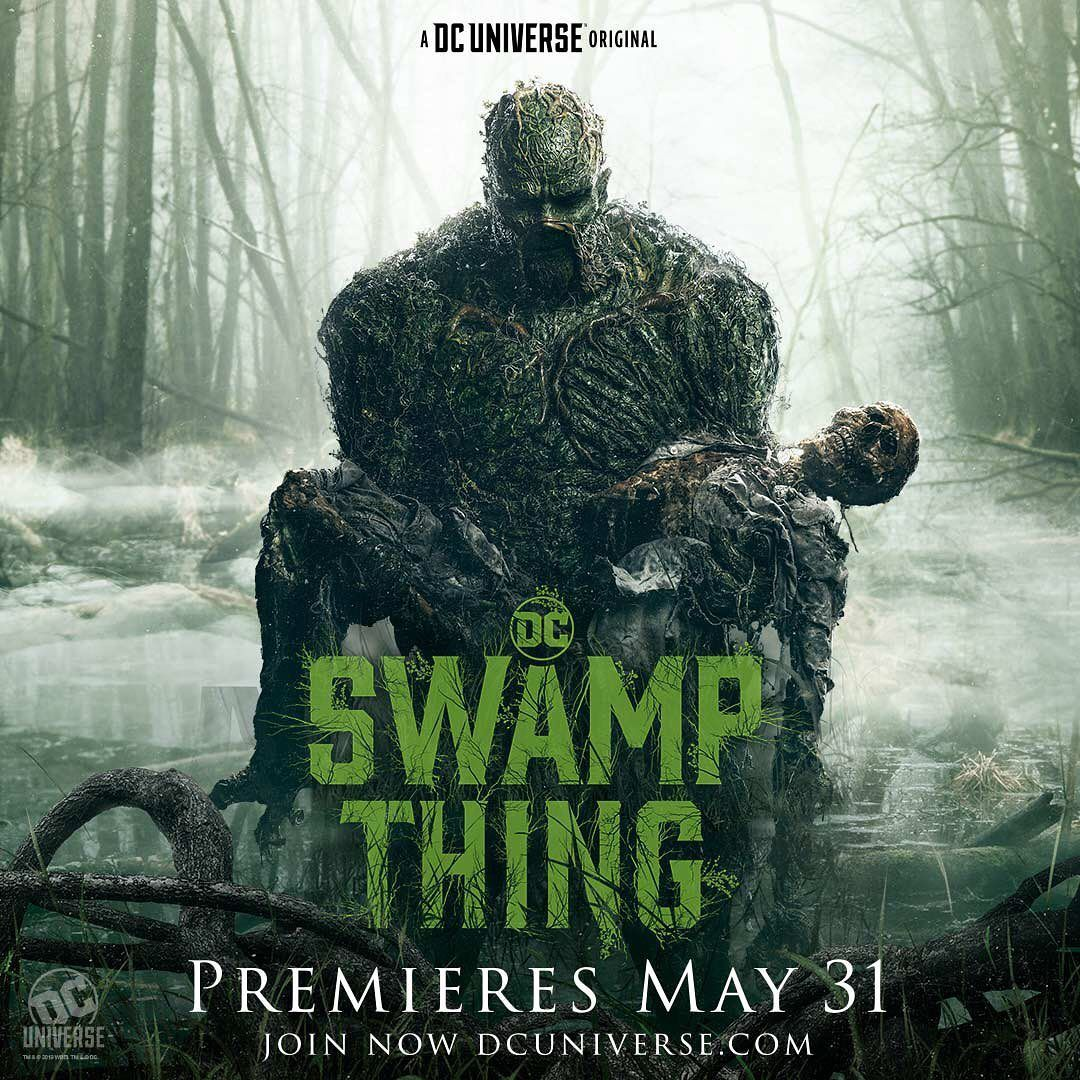 DC's Swamp Thing TV series has been cancelled after just one