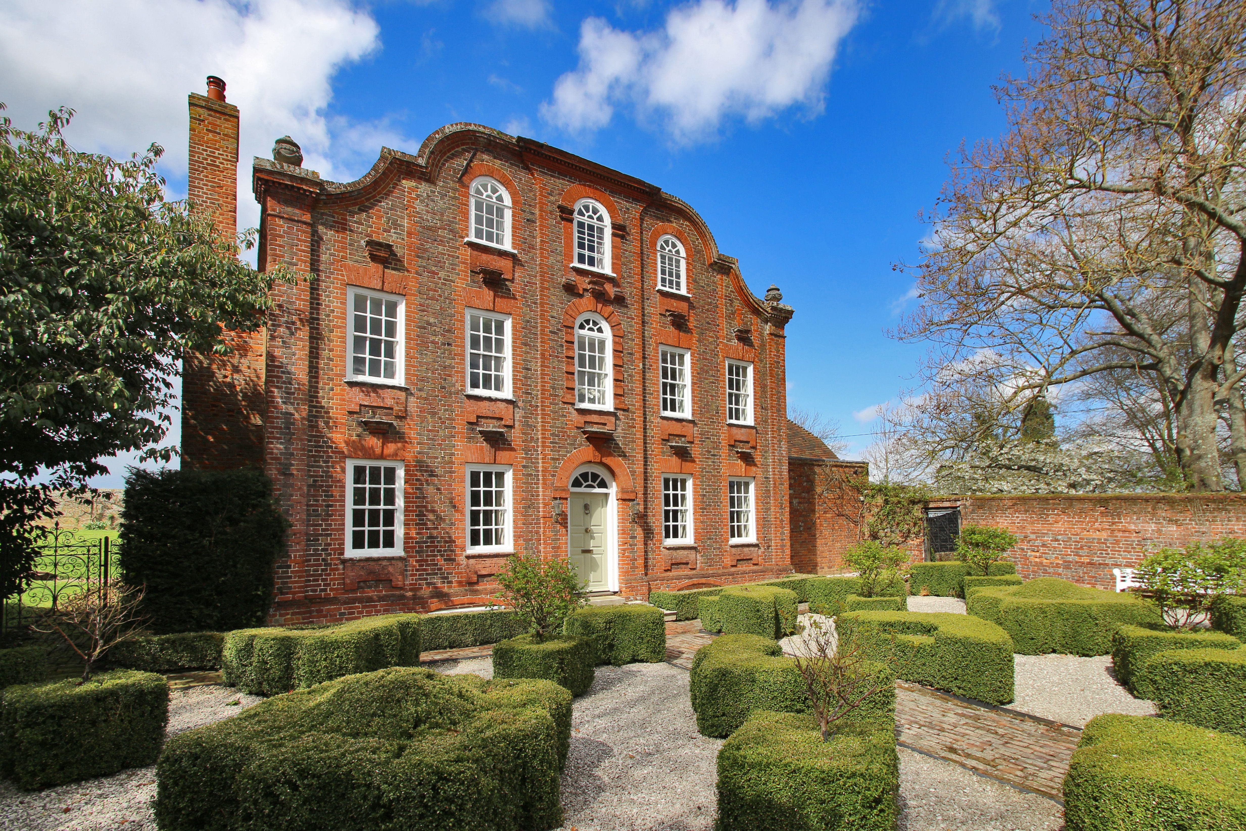 Incredible Grade Ii Listed Georgian House With Barn For Sale In Kent Download Free Architecture Designs Scobabritishbridgeorg
