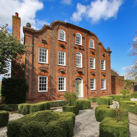 Surprising Grade Ii Listed Georgian House With Barn For Sale In Kent Download Free Architecture Designs Scobabritishbridgeorg