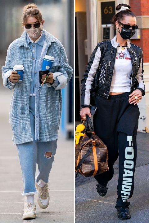 ジジ・ハディッド,ベラ・ハディッド,gigi hadid,bella hadid,モデル,私服,トレンド,ブランド,model,outfit,trends,street style