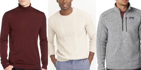 10 winter sweaters for men 2018 the best cozy warm sweaters