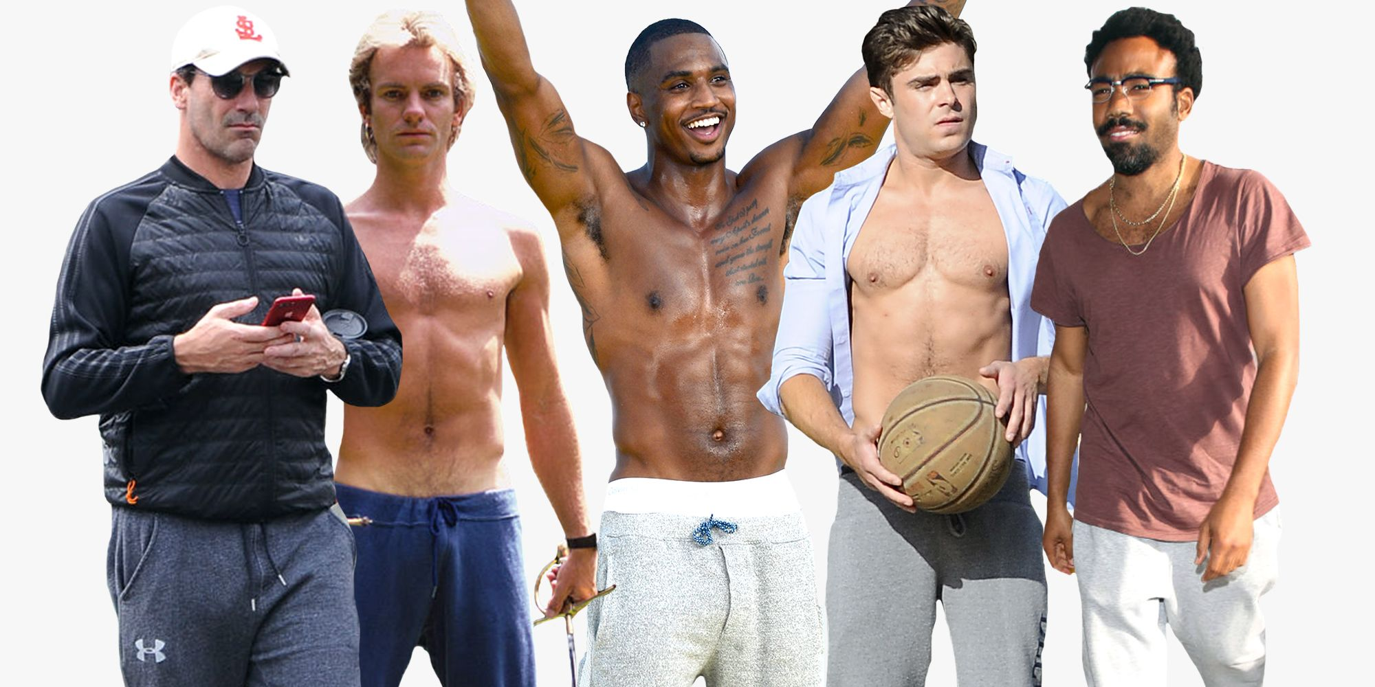 Just a Bunch of Hot Guys in Sweatpants to Warm You Up 59ec076e6