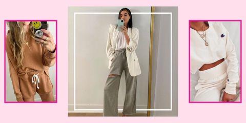 sweatpants outfit ideas