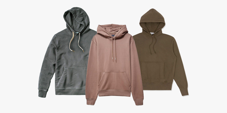 Build Your Brand Mens Heavy Zip Up Hoodie RW5680