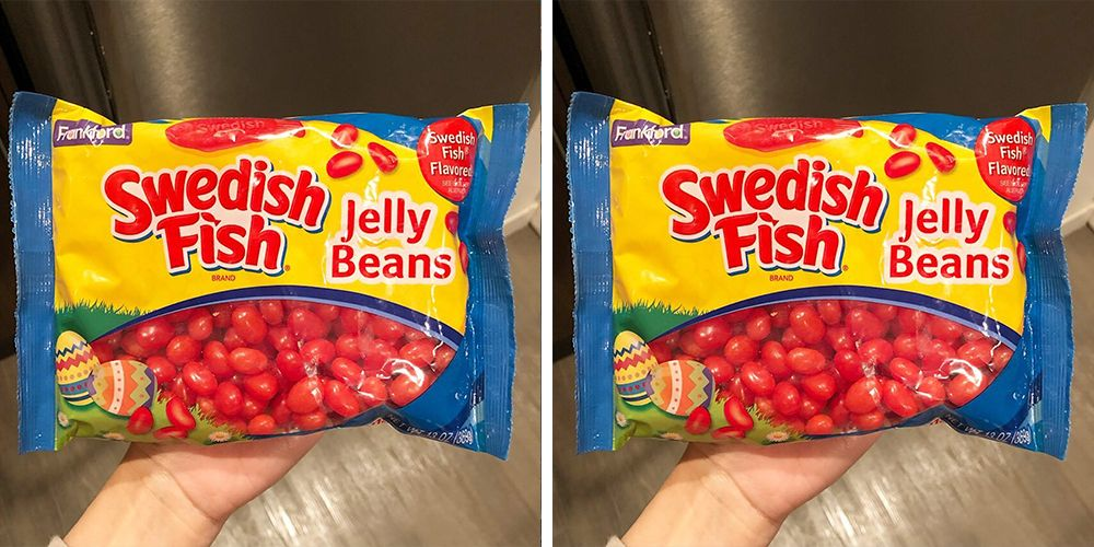 These Swedish Fish Jelly Beans Deserve To Be Eaten By The Handful