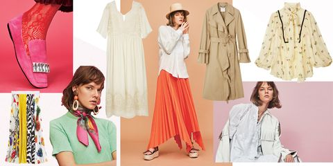 Clothing, Fashion, Pink, Peach, Outerwear, Fashion model, Pattern, Pattern, Design, Fashion design,
