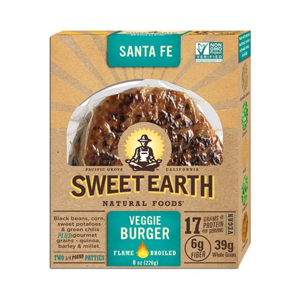 Sweet Earth Natural Foods Santa Fe Veggie Burger