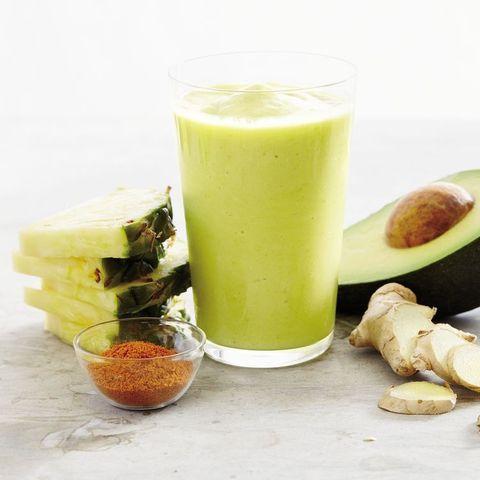 Food, Health shake, Vegetable juice, Smoothie, Drink, Ingredient, Juice, Lassi, Dish, Cuisine,