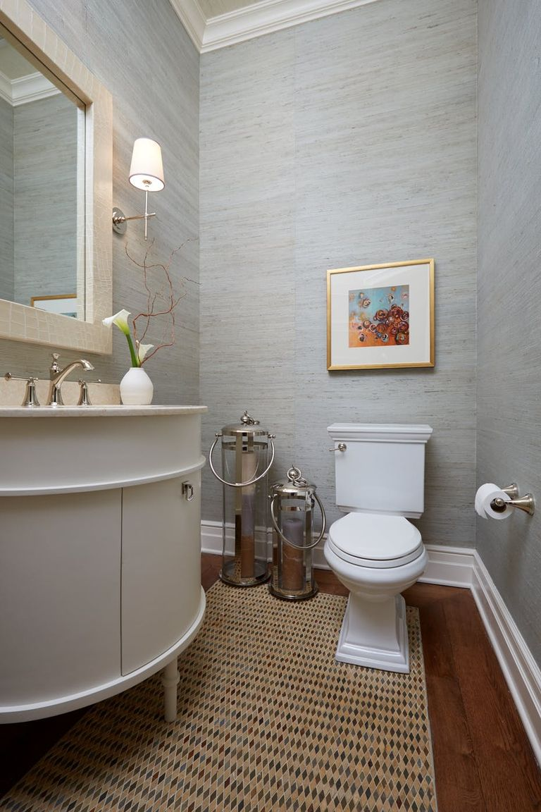 Toilet Room Designs: Small Space Decorating