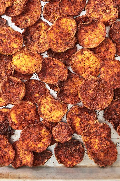 sweet potato chips vegan