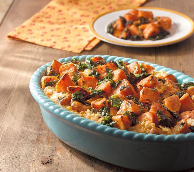 sweet potato kale casserole frozen