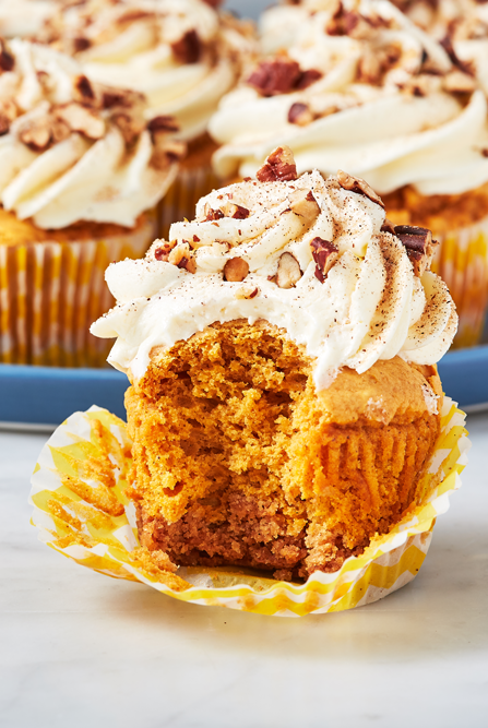 Sweet Potato Pie Cupcakes - Delish.com