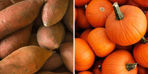 sweet potato or pumpkin