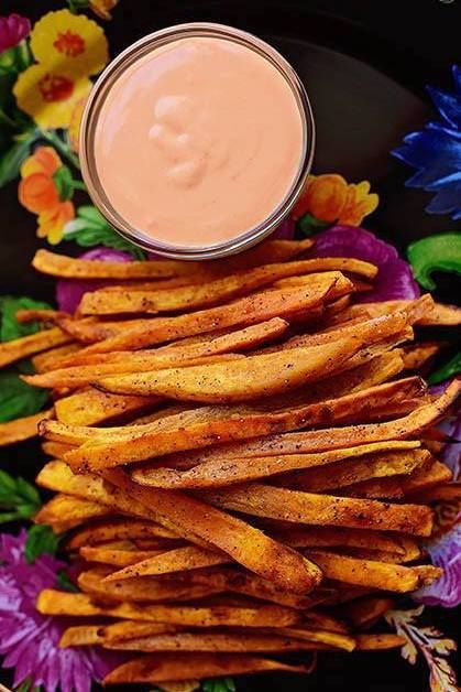 sweet potato recipes fries
