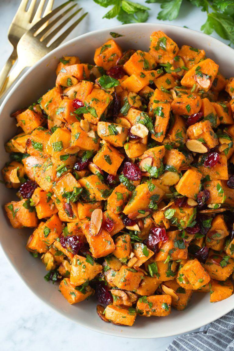 sweet potato recipes salad