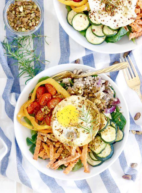Dish, Food, Cuisine, Ingredient, Meal, Lunch, Vegan nutrition, Produce, Salad, Staple food,