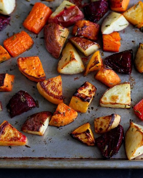 sweet potato side dishes roasted rosemary root vegetables