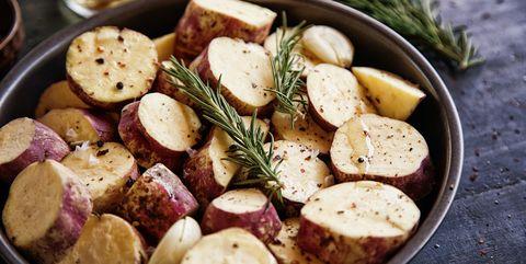 Sweet Potato With Rosemary