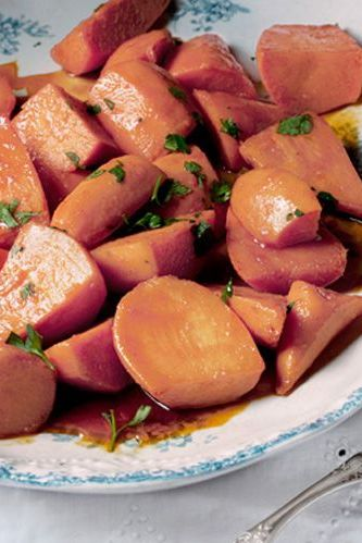sweet potato recipes maple glaze