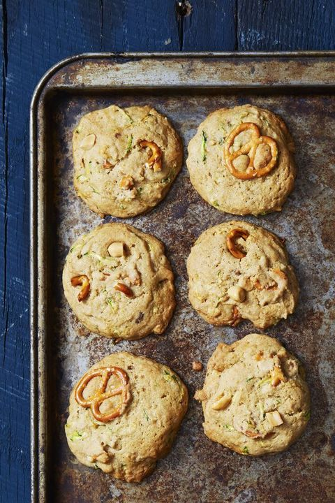 sweet  salty zucchini bread cookies