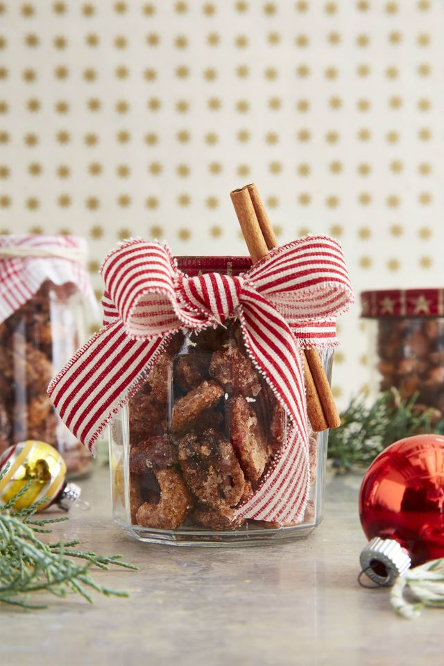 cinnamon and cayenne coated nuts