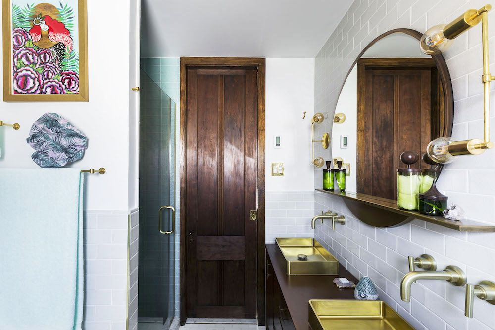 An Outdated 1920s Bathroom Just Got a Major Facelift