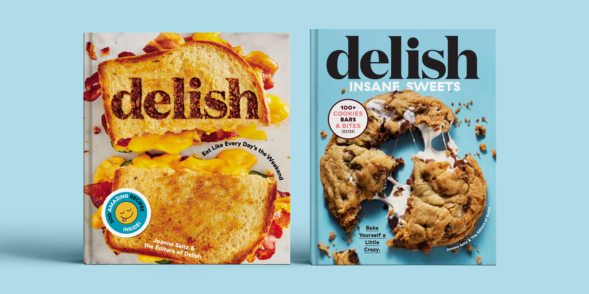Buy Both Delish Cookbooks And Get A Third Book Free Today Only