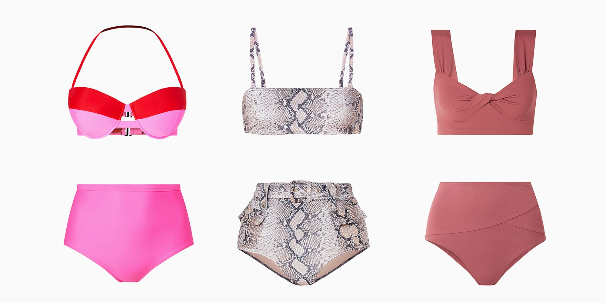 23 High-Waisted Bikinis Because You're Probably Ready for a Vacation