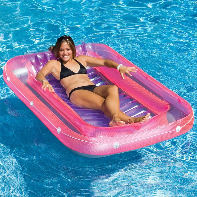 swimline inflatable suntan tub