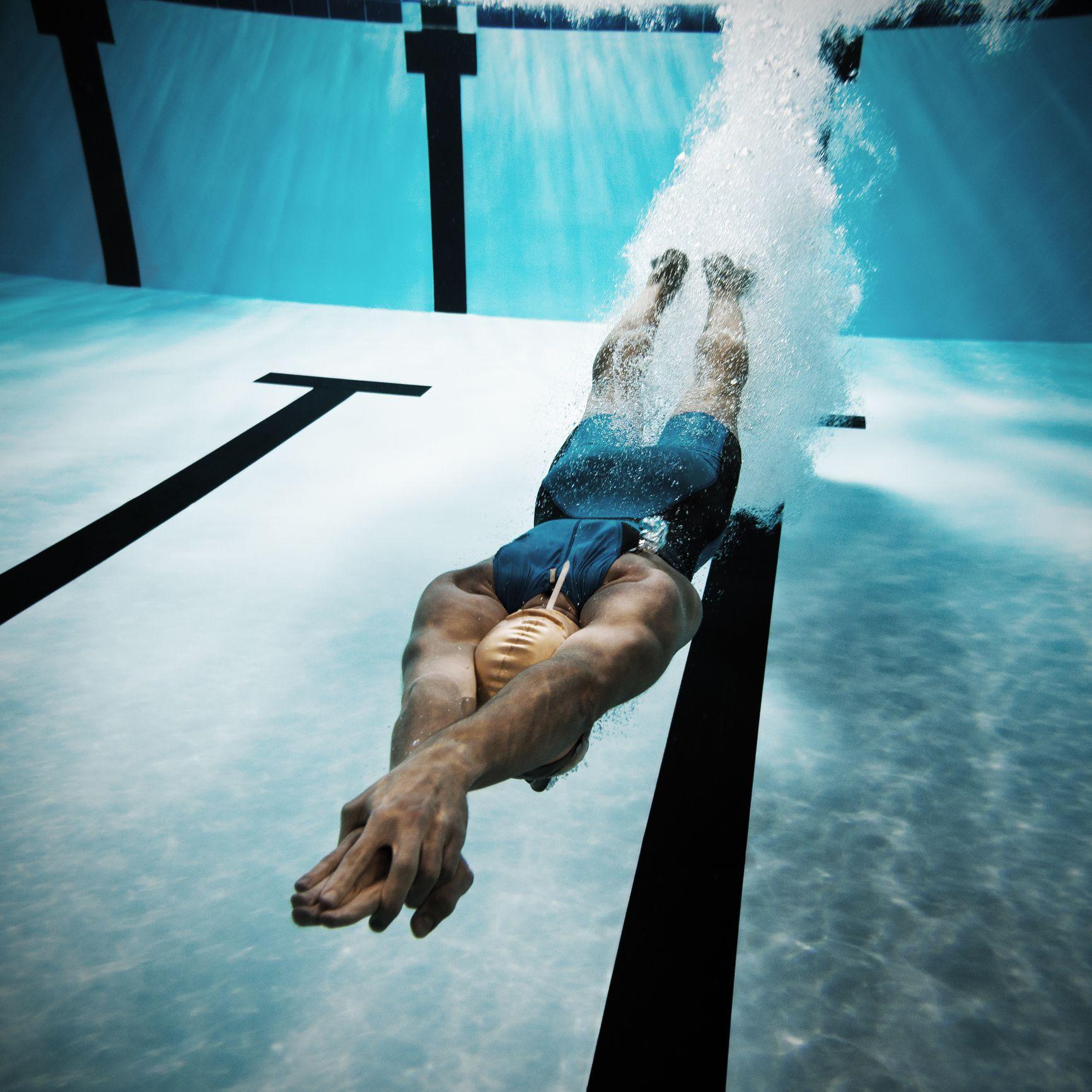 Swimming benefits body shape