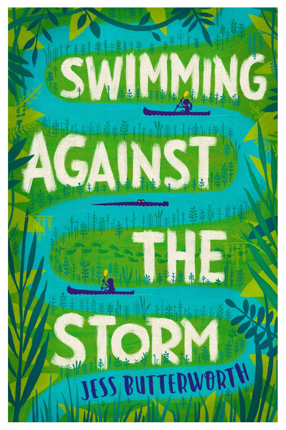Swimming Against the Storm by Jess Butterworth