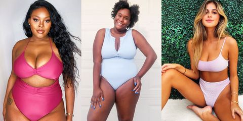 12 Swimsuits for Large Busts | Full Bust Swimwear to Feel Great In - MarieClaire.com