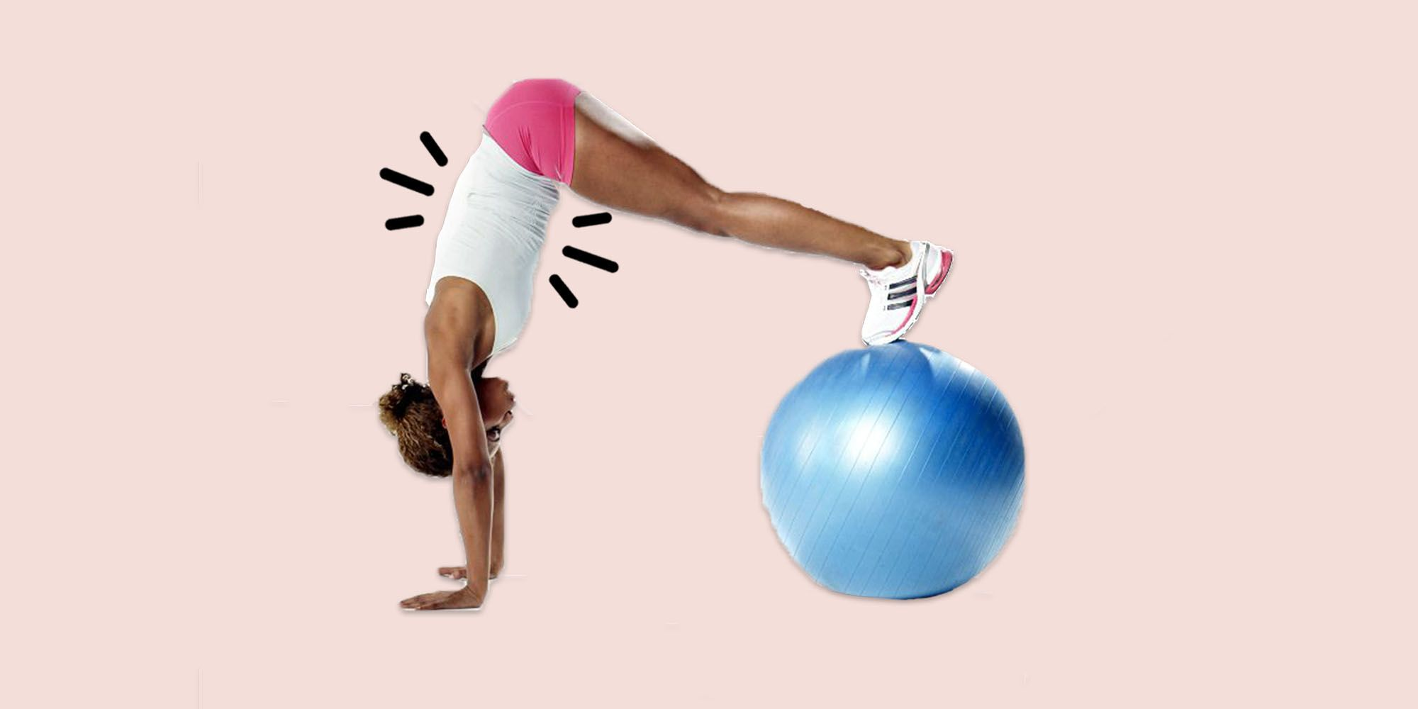 How to Do a Swiss Ball Pike to Really Tax Your Core and Build Strength