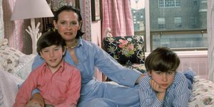 Gloria Vanderbilt And Her Sons