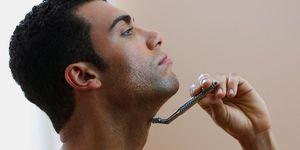 カミソリ 一枚刃,  髭剃り 一枚刃,  シェービング, 髭剃り,