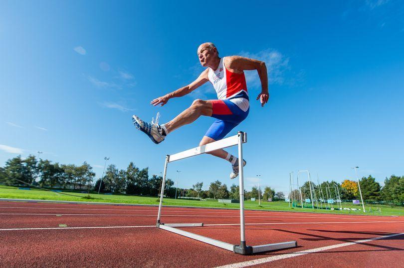 Veteran sprinter Tony Bowman breaks M85 200m record
