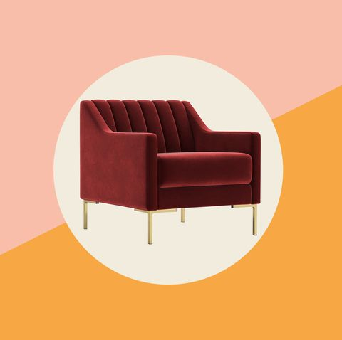 Red Velvet Furnishings Are Trending at Swoon