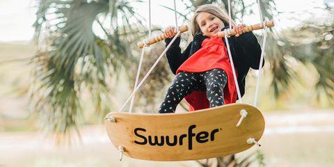 Swurfer surf swing