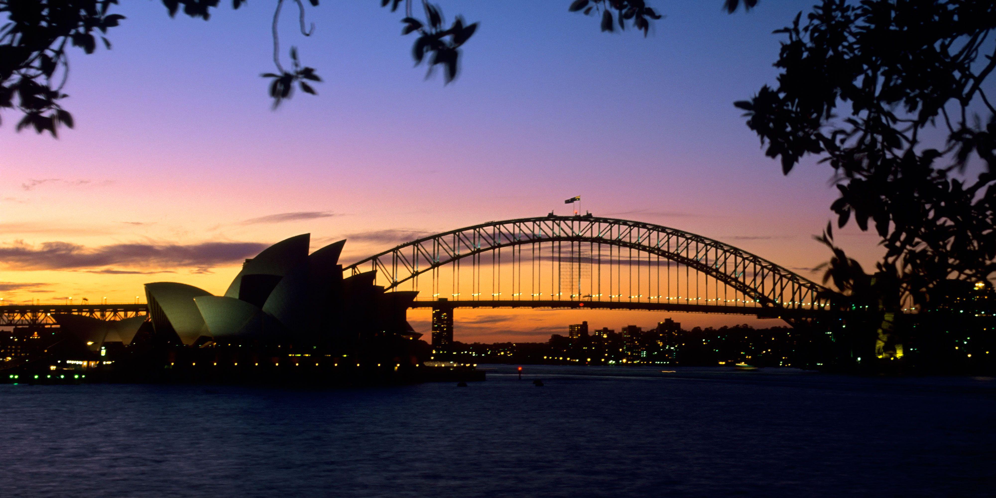 The Harbour Bridge in Sydney