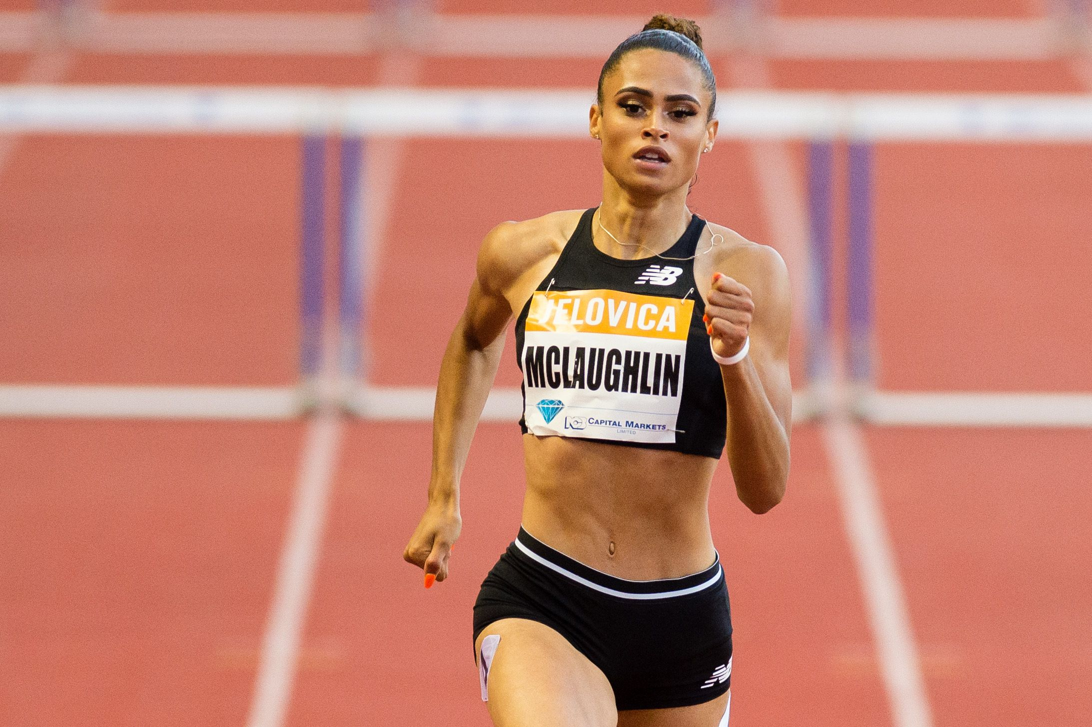 Runner Workout   Sydney McLaughlin's At-Home, Total-Body Workout